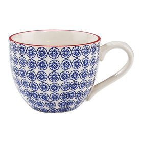 RETRO Tasse 550 ml blau
