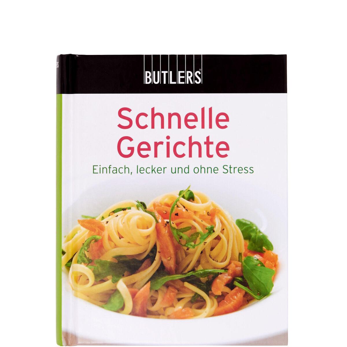 Kochbuch mini schnelle gerichte butlers for Schnelle gerichte buch