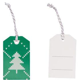 X-MAS Geschenkanhänger Tannenbaum grün 6