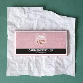 """GREETS """"Daumendrücker"""" Schokolade 100g"""