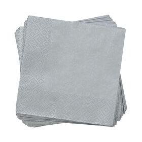 APRÈS Papierserviette Uni silber