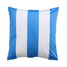 MIAMI BEACH Kissen 50x50 cm blau-weiß