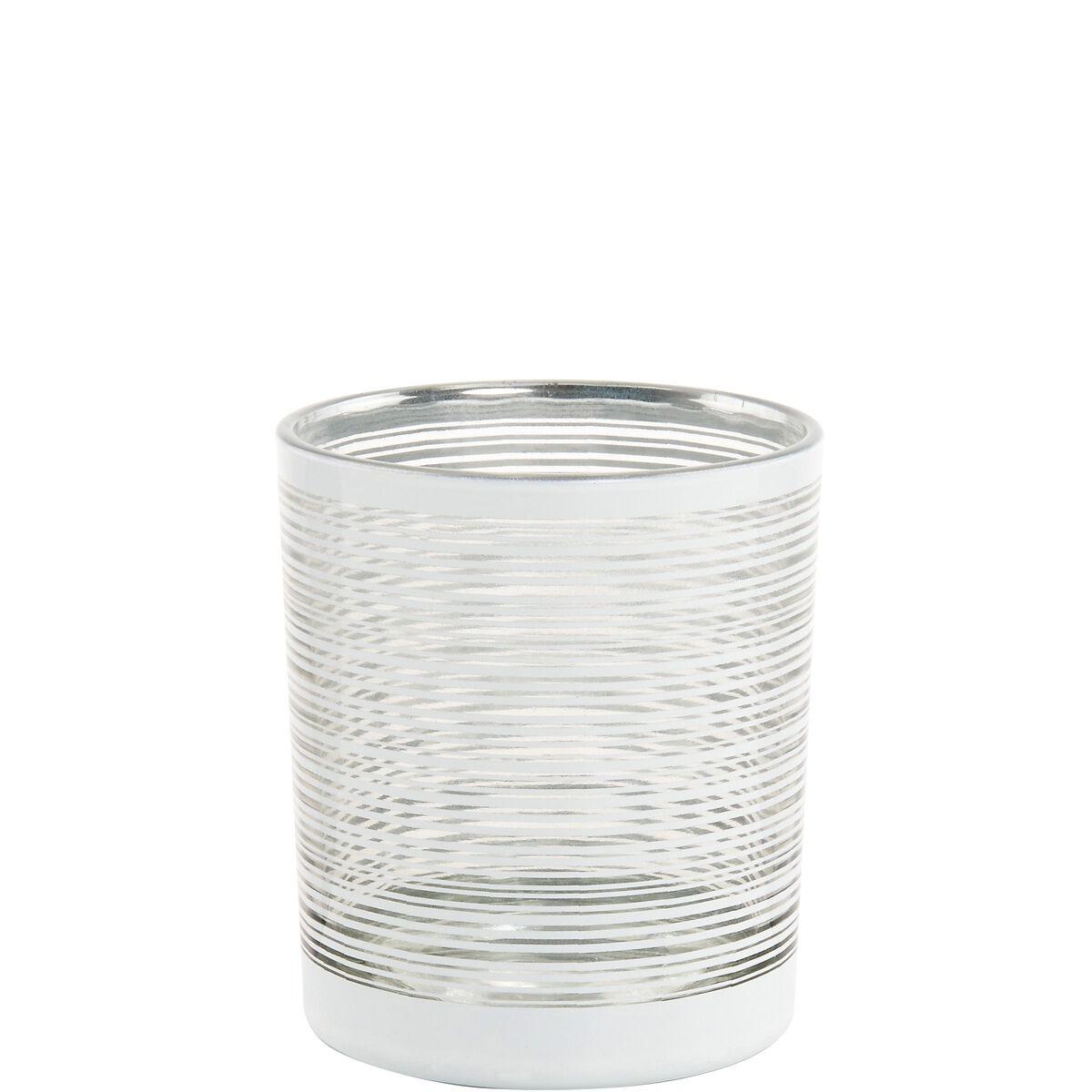DELIGHT Teelichthalter 10cm, silber