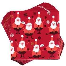 APRÈS Papierserviette Big Nose Santa