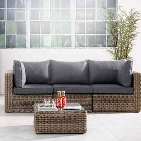 BLOCK PARTY 3er Sofa und Tisch