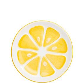 LEMON Teller Zitrone klein
