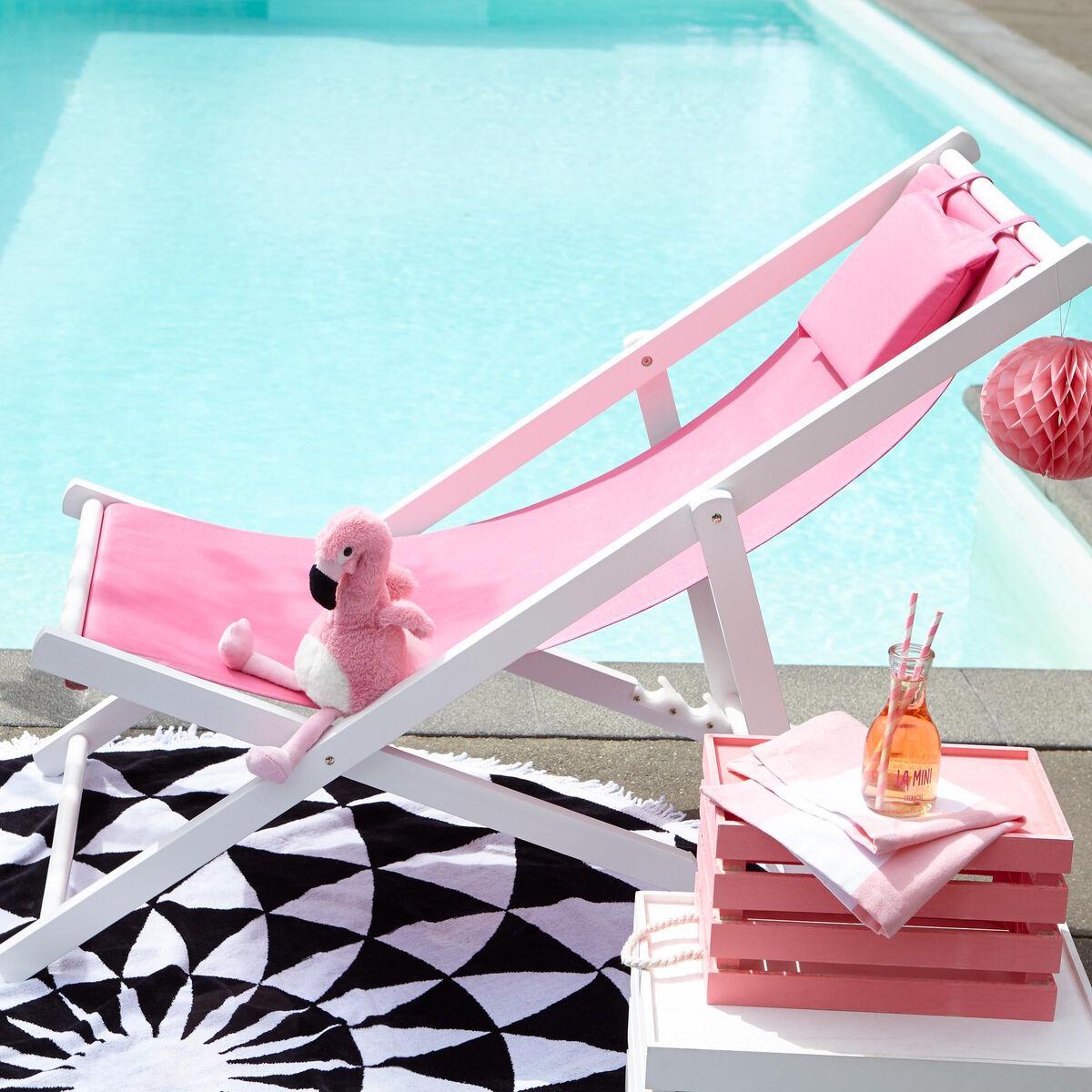 BEACH BOY Strandstuhl pink