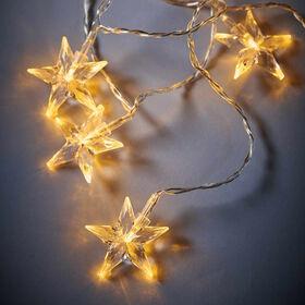 STAR LIGHTS LED Lichterkette Sterne 10L