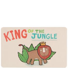 WILD THINGS Frühstücksbrett Jungle King