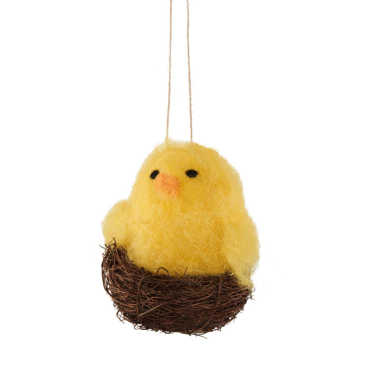 EASTER Anhänger Nest mit Küken