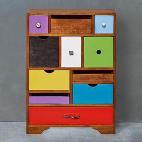 MODERN ARTIST Kommode mit 11 Schubladen