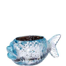 PEARLY BEACH Teelichthalter Fisch