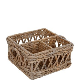 WILLOW Menagerie 25x25x14cm Rattan