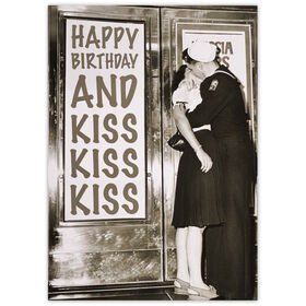 CARD Happy Birthday and Kiss Kiss