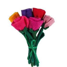 BOUQUET Filz Blumenstrauss 6 Blumen