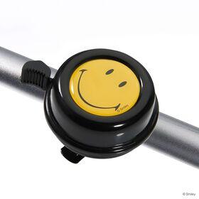 SMILEY Fahrradklingel 60mm, schwarz