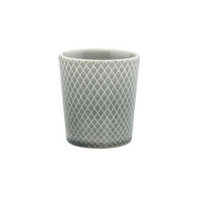 HANAMI Teetasse Kreuz grau, 200ml