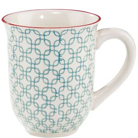 RETRO Tasse 300 ml h'blau
