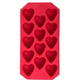 COOL DOWN Eiswürfelbereiter Herz rot