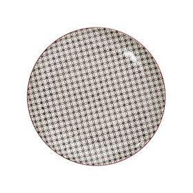 RETRO Essteller Ø 25,4 cm schwarz
