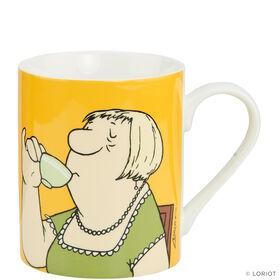 "LORIOT Kaffeetasse ""Gott, was sind..."""