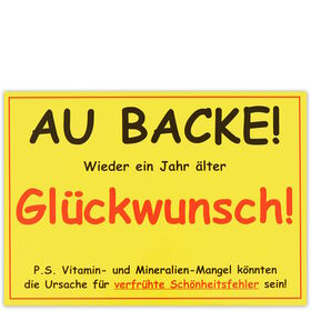 CARD Au Backe