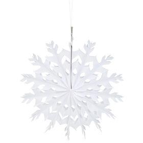 X-MAS Papierdekoration Eiskristall 36cm