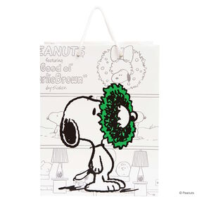 PEANUTS Geschenktasche Snoopy groß X-MAS