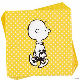PEANUTS Papierserviette Charlie Brown