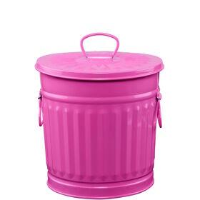 ZINC Zinkmülleimer 22 cm pink