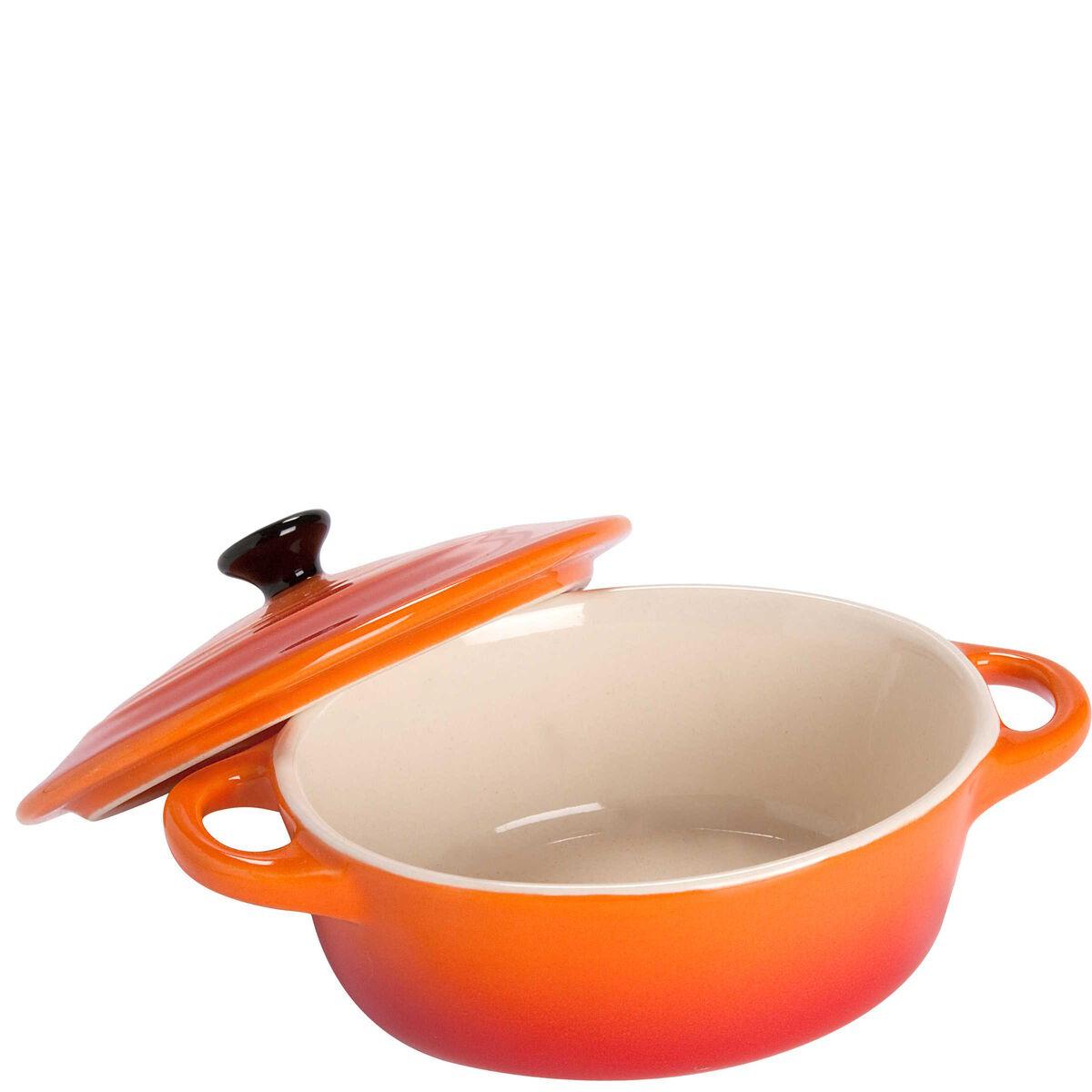 C'EST SI BON Mini-Auflauff orange 10,5x8