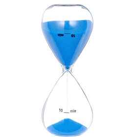 TOP TEN Sanduhr 10 Minuten blau