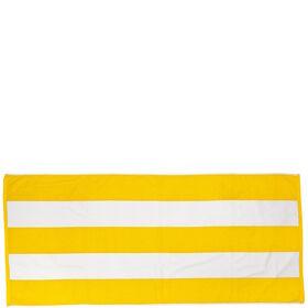 CAPRI LOUNGE Strandtuch gelb/weiß