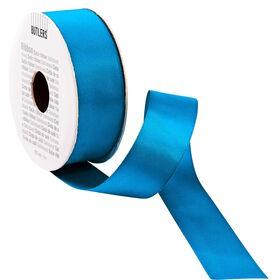 RIBBON Satinband 5m x 25mm, blau