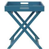 SIDEKICK Standtablett blau 40x40x47