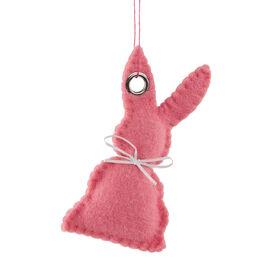 EASTER Anhänger Filz Hase, rosa