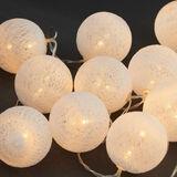 IN THE MOOD Cotton Ball Lichterk.,weiß
