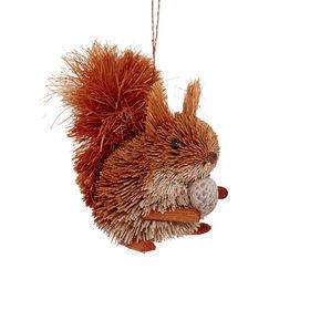 HANG ON Stroh Eichhörnchen mit Nuss