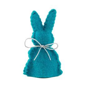 EASTER Eierwärmer Filz Hase, blau