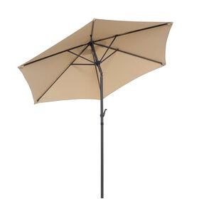 SIESTA Sonnenschirm beige Ø 2,5 m