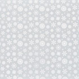 SURPRISE Geschenkpapier Schneeflocken gr