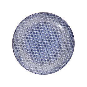 RETRO Essteller Ø 25,4 cm blau