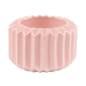 SPHERE Teelichthalter rosa