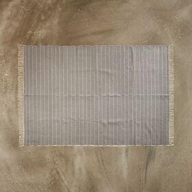 SILENT DANCER Teppich schwarz-creme160x
