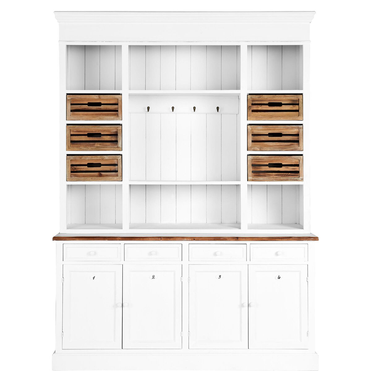 Campagne buffetschrank 2 tlg butlers for Butlers katalog
