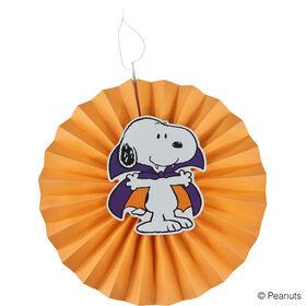 PEANUTS Halloween Deko Snoopy Ø30 orange