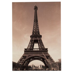 CARD Postk.farb.: Eiffelturm