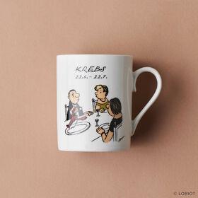 LORIOT Kaffeetasse Krebs