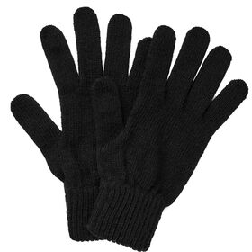 BOUTIQUE Strick Handschuhe schwarz