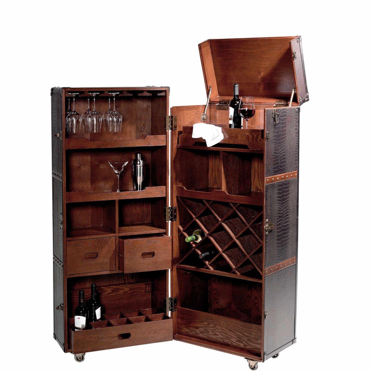 hemingway koffer bar mit separatem tablett butlers. Black Bedroom Furniture Sets. Home Design Ideas